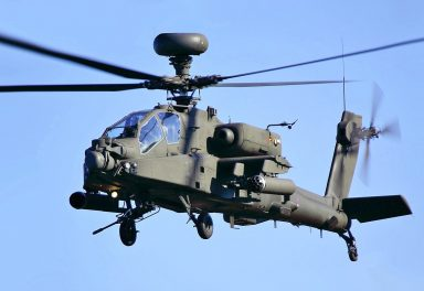 Apache AH-64 Longbow helicopter