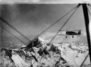 Harald Penrose was Westland Chief Test Pilot between 1932 and '53. His son, Ian Penrose, recalls his father's role in the first flight over Everest